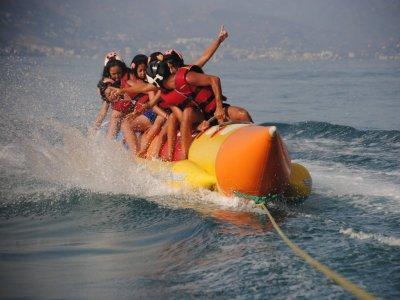 Banana boat en Torremolinos 8 minutos
