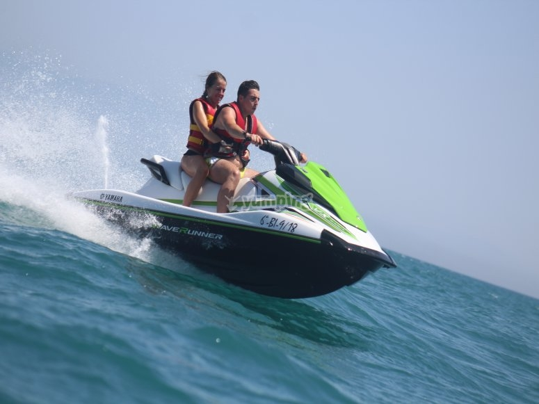 Velocidad en el Mediterráneo