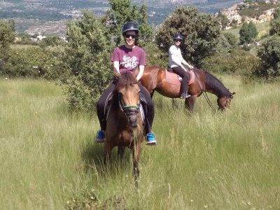 Paseo a caballo en La Cabrera 2 horas