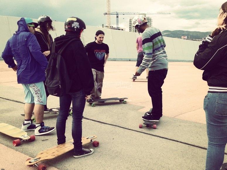 Dominando el skateboard