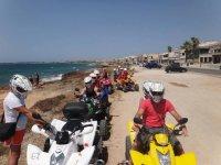 ruta de playa