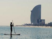 Entrenamiento Paddle Surf en Barcelona 1 hora