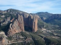 Riglos from the top