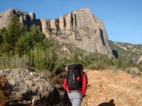 Hiking in Peña Ruaba