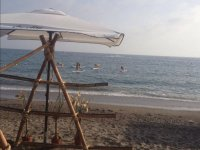 Exercises on the sup -999 tables- Tent on the beach