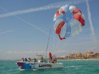 Barco parasail