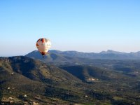 En globo por la sierra de Mallorca
