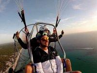 Paramotor en tandem sobre Mallorca