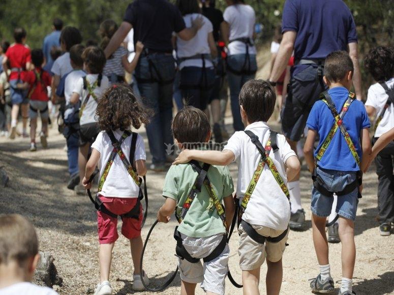 Parque arbóreo para niños