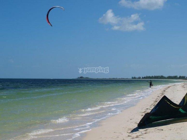 塔里法风筝冲浪