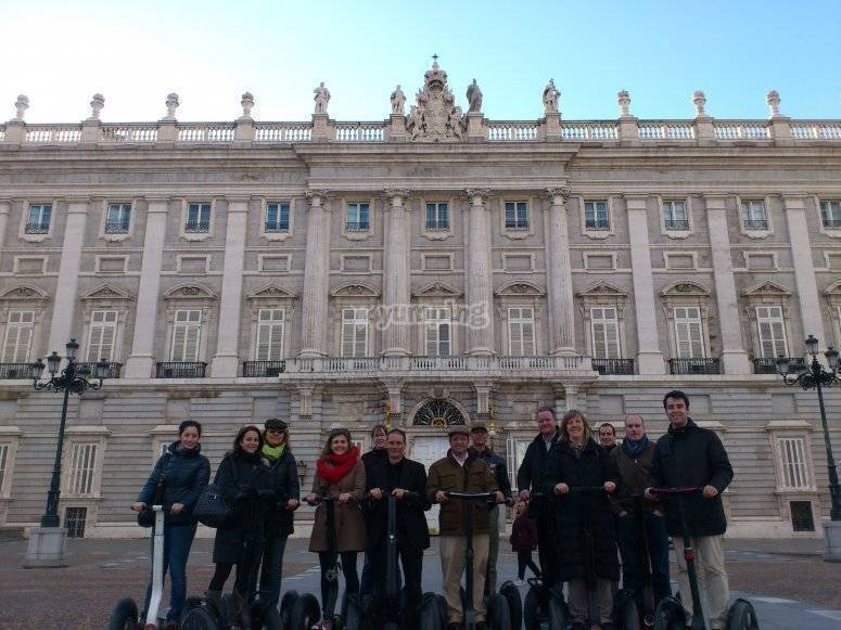 SegwayTrip Tours Grupos y eventos (Palacio Real de Madrid)