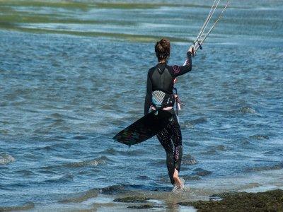塔里法的风筝冲浪私人课程,2小时