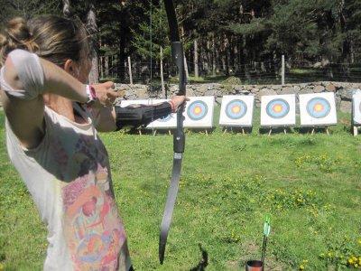 1 hora de tiro con arco en Gredos