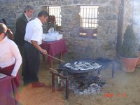 All kinds of grilled meat and fish