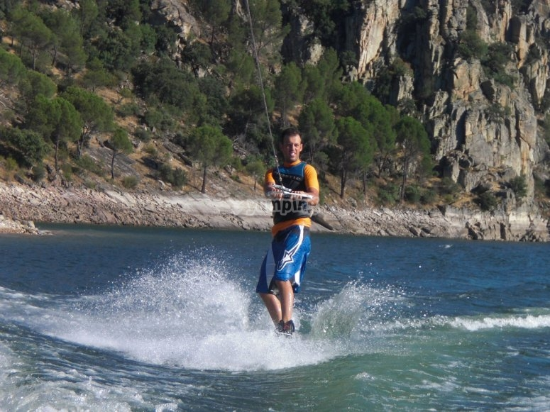 Wakeboarding in Madrid
