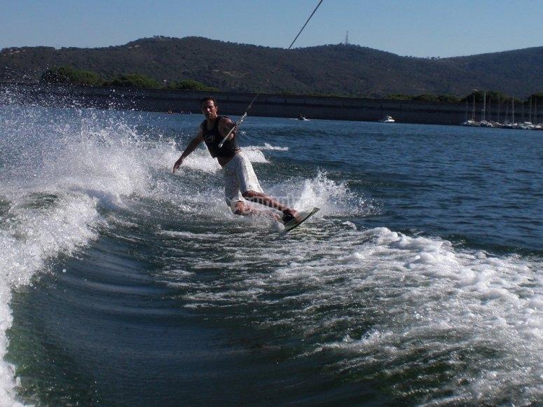 Profesor de wakeboard