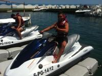 15分钟在Platja D'Aro的de moto nautica doble