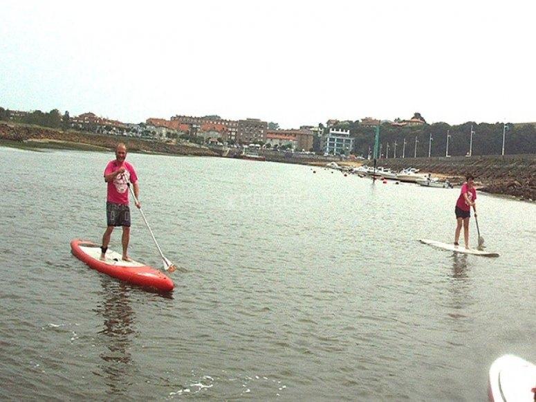 curso  sup paddle surf cantabria