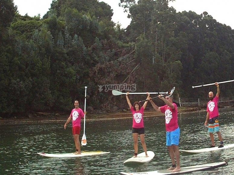 curso sup alquiler paddle surf cantabria