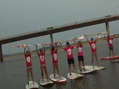 SUP paddle surf course in the beach of Somo 2 h