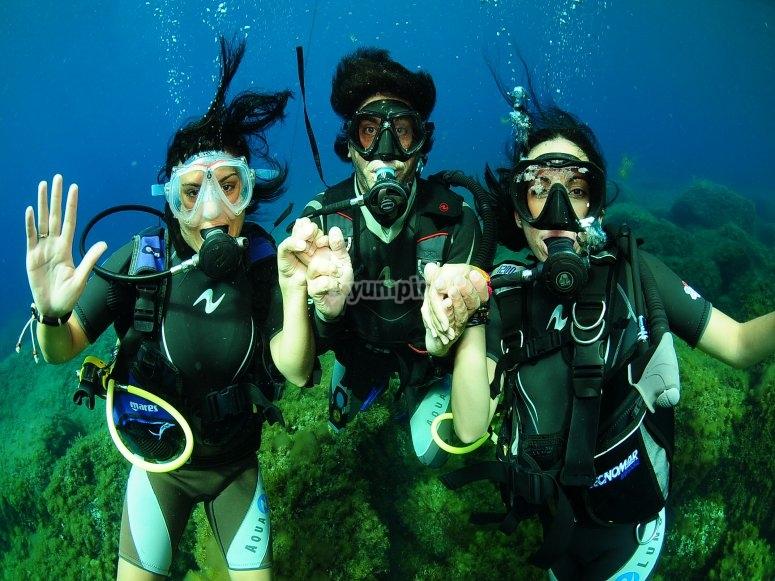 伊维萨岛潜水