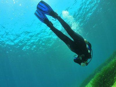 Inmersión de buceo en San Antonio
