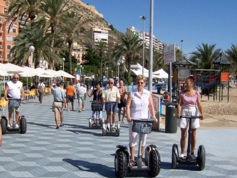 Ruta en segway en Alicante