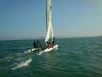 Navega en catamarán