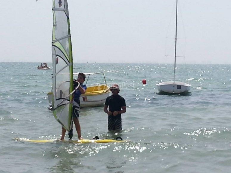 Advanced windsurfing