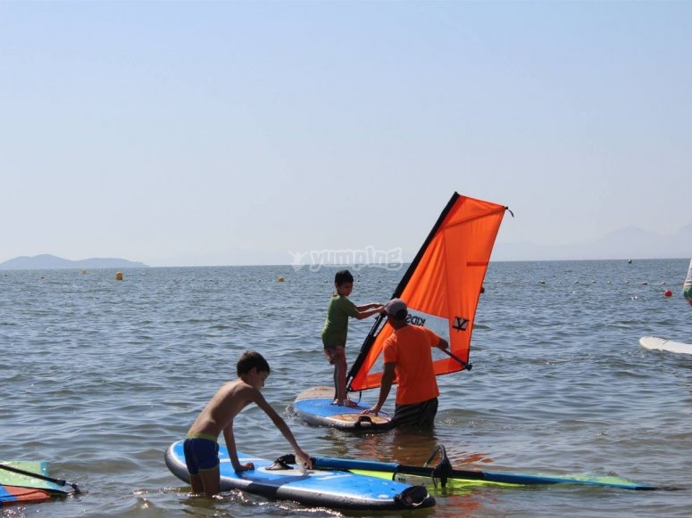Usando las tablas de windsurf