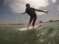 Paddel Surf por una alumna