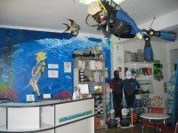 la tienda por dentro