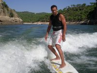 Surf wake en el embalse de San Juan 1 hora