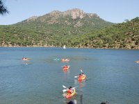 Guided canoeing tour