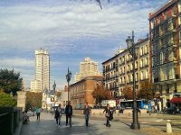 西班牙广场周围的环境