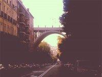 Sul ponte di Segovia