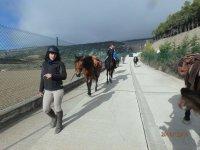 Passeggiata a cavallo ad Arbayún per bambini, 20 min