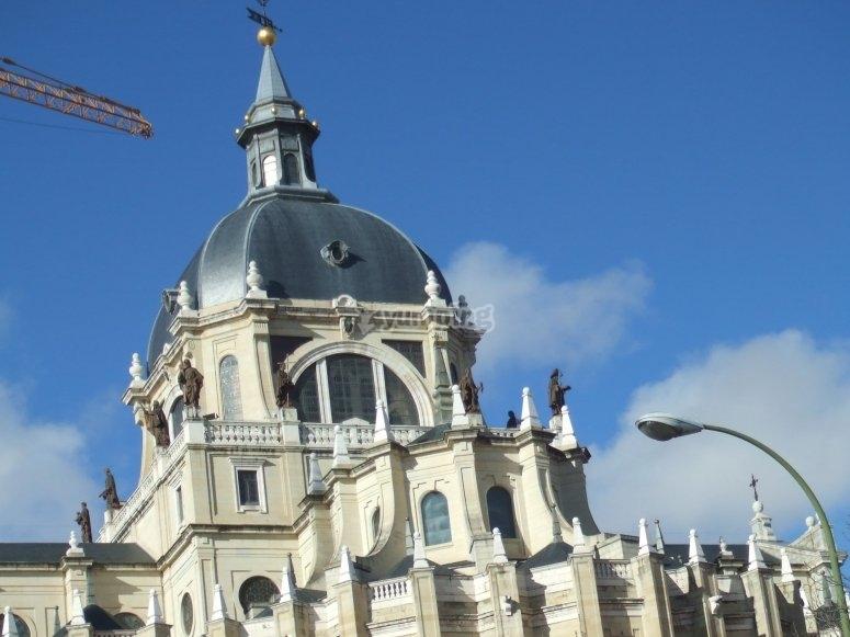 Cúpula Catedral de la Almudena