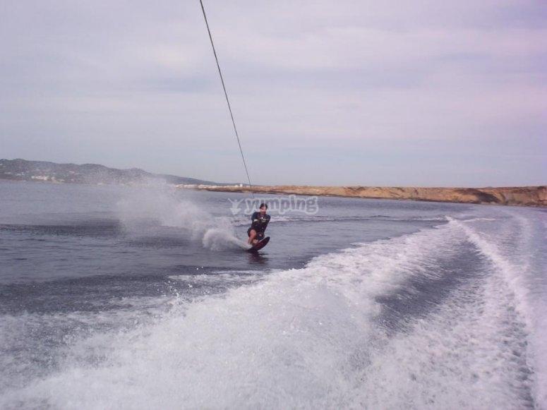 Experiencia de wakeboard