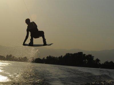 Sesión de wakeboard en Pollença, 15 minutos