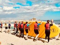 Giant paddle surf