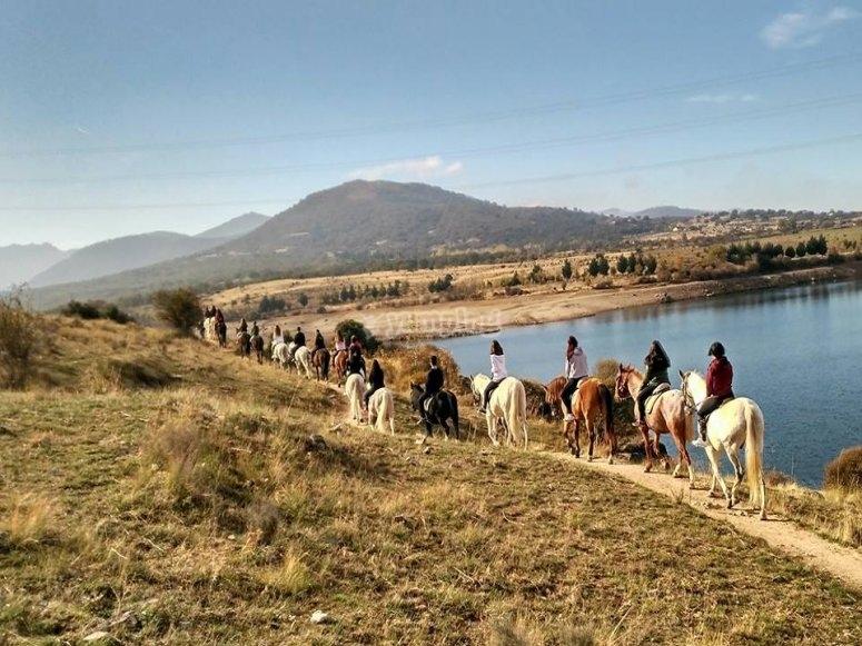 塞哥维亚的骑马