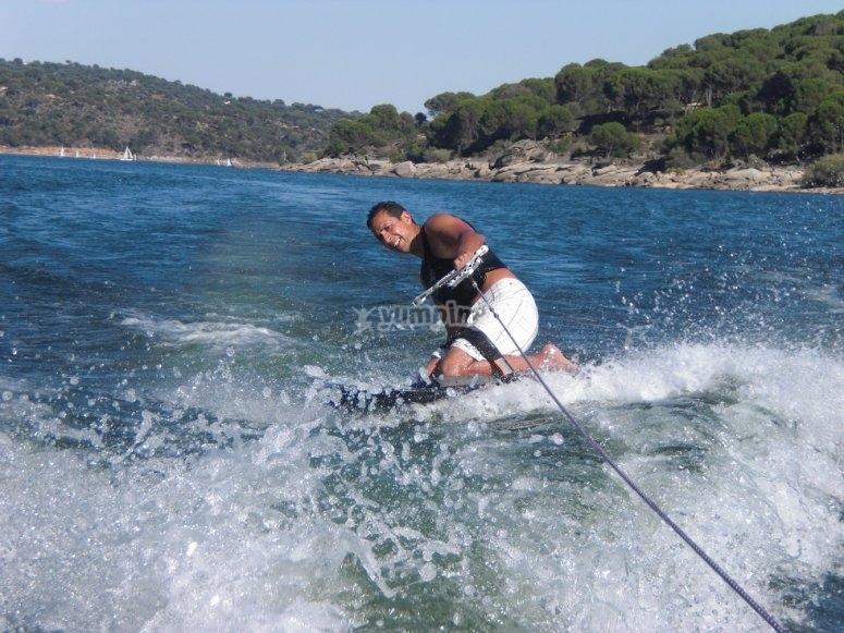 水生跳跃练习kneeboards