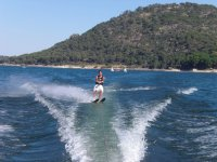Waterskiing in San Juan Reservoir - 15 min
