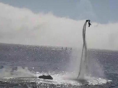 15-minute flyboard ride in Ses Salines