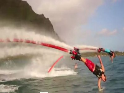 30-minute flyboard ride in Ses Salines