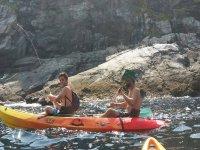 Alquiler de kayak durante una jornada