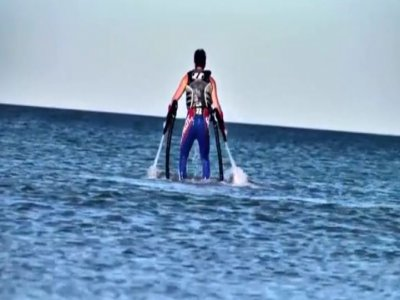 30-minute flyboard ride in Playa d'en Bossa