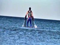 Despegando desde el agua