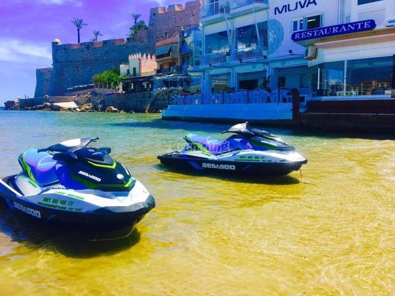 Nuestras motos de agua